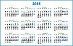 Kapesní kalendář 2015